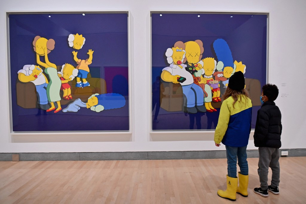 KAWS retrospective opens in New York