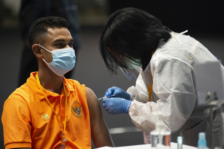 Ready, set, go! Indonesian athletes eye tournaments after receiving vaccine