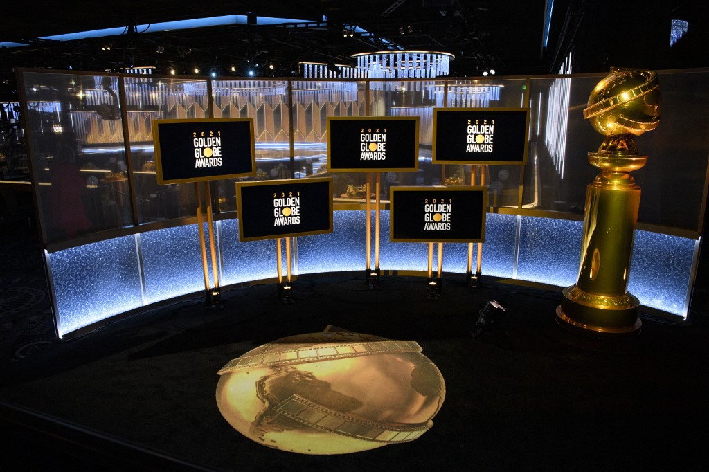 Remote Golden Globes launches Hollywood awards season -- with a glitch