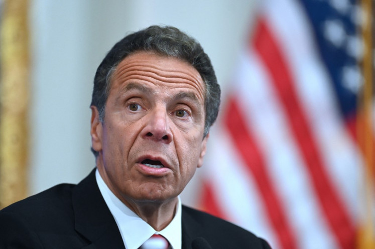 New York governor faces pressure over sexual harassment allegations