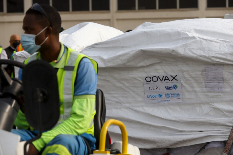 World's first Covax jab injected as US eyes J&J rollout