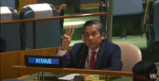 ¿Quién debería representar a Myanmar en la Asamblea General de la ONU?