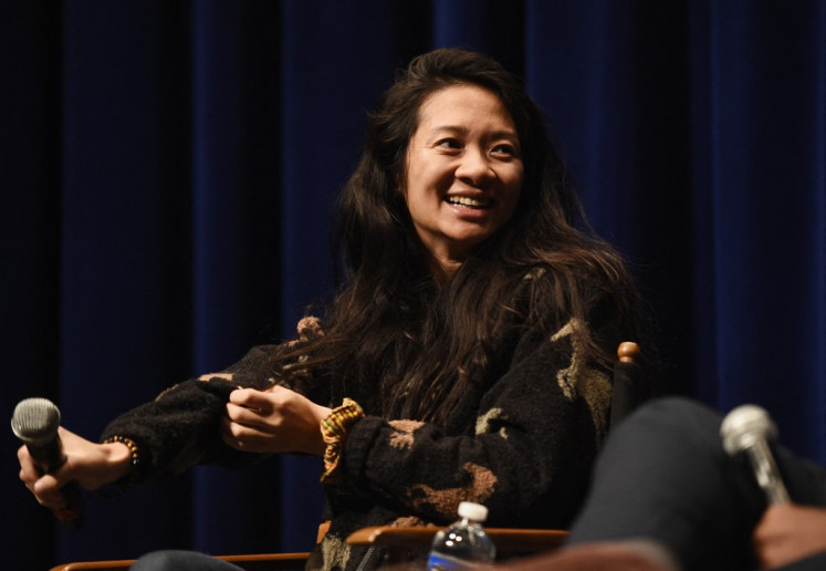Chloe Zhao is the first woman ever to land four Oscar picks in a year, and the first woman of color nominated for the Academy's best director statuette