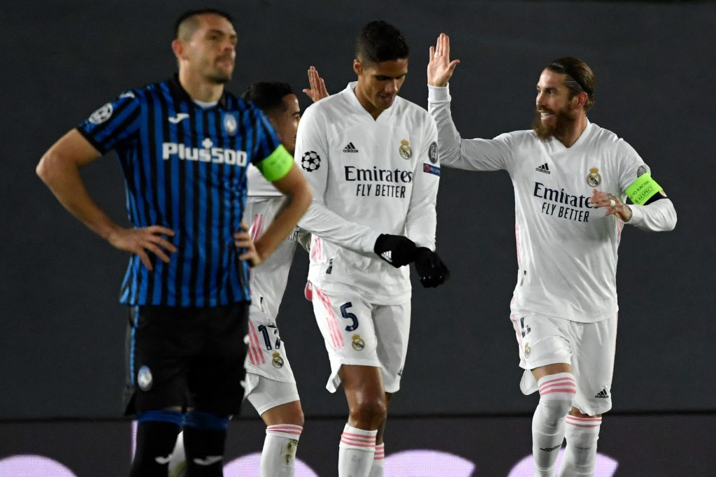 Real Madrid's old guard see off Atalanta to reach Champions League last eight