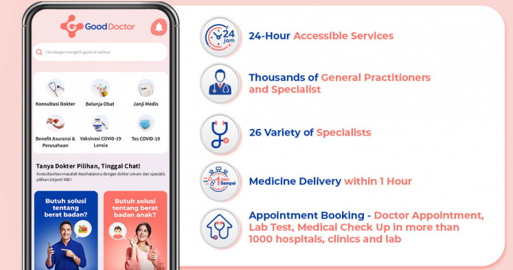 All-in-one: The Good Doctor app allows users to have access to 24/7 health-related channels, including access to virtual consultations including 26 variety of specialists, an e-commerce network boasting more than 2,000 pharmacies, and the ability to make medical appointments at more than 1,000 hospitals, clinics and laboratories.