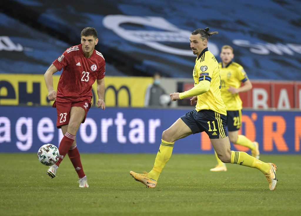 'Like my first international', says Ibrahimovic after win on Sweden return