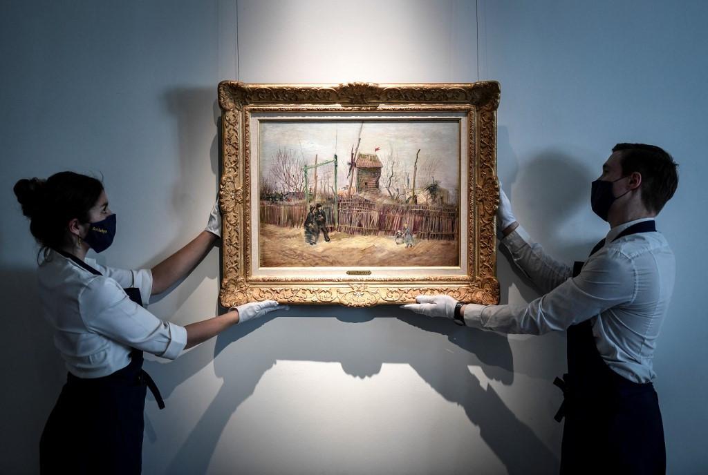 Rarely seen Paris Van Gogh sells for over $15 million