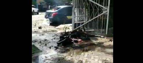 Explosion rocks church in Makassar: Police
