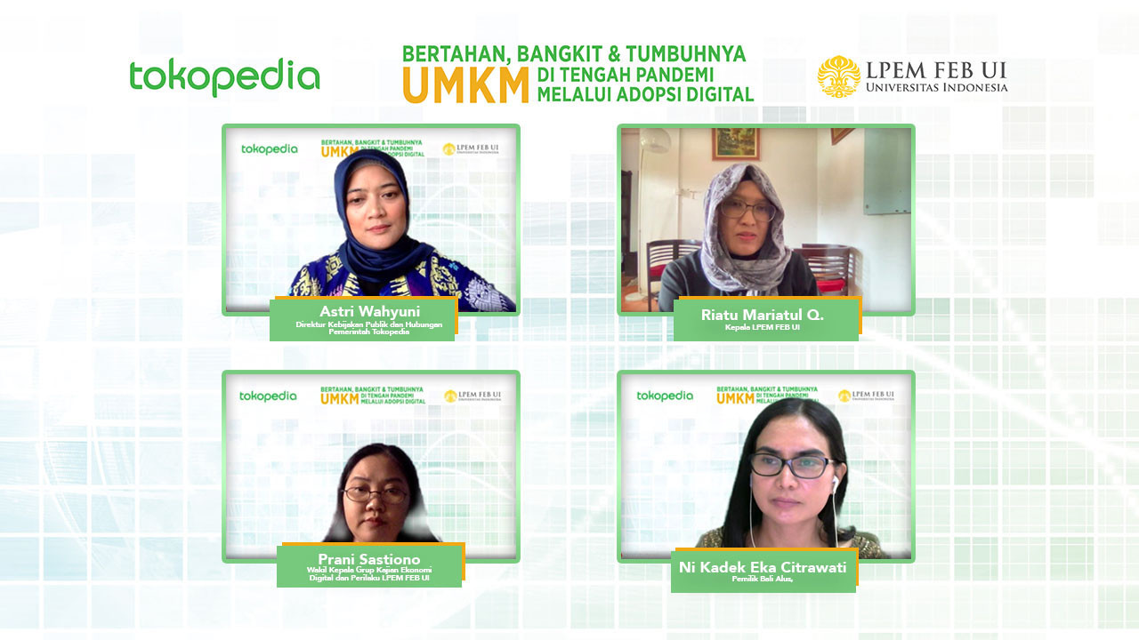 Tokopedia boosts pandemic-battered MSMEs economy through digital transformation