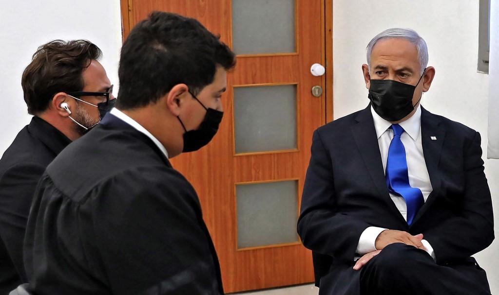 Netanyahu on trial as coalition talks ramp up