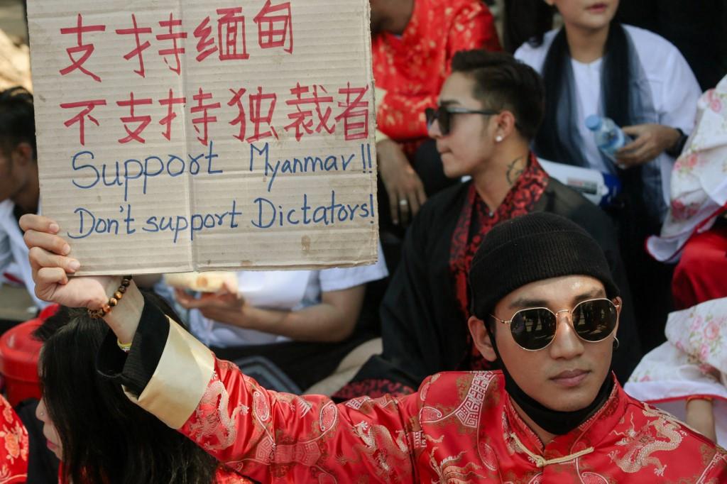Myanmar actor arrested as junta hunts 120 celebrities