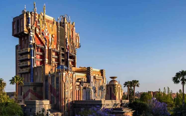 Other locations from Marvel films to find its way to Disneyland will include the Collector's fortress from 'Guardians of the Galaxy'. This illustration found on the Disneyland official website shows how it will approximately look like.