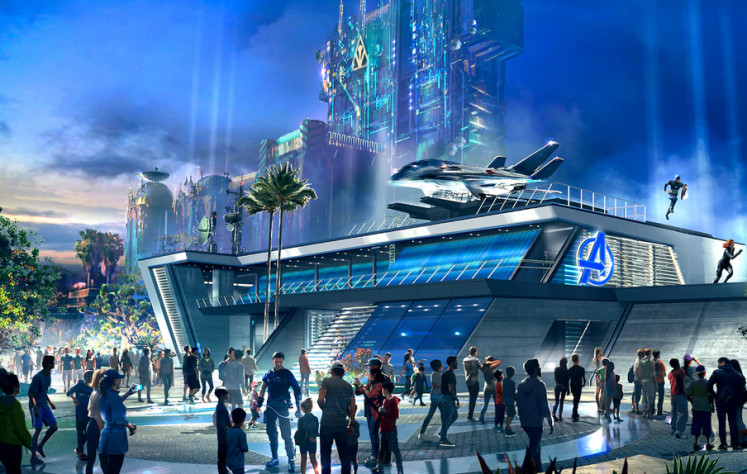 Disneyland's Avengers area to open in June with Spider-Man and shawarma