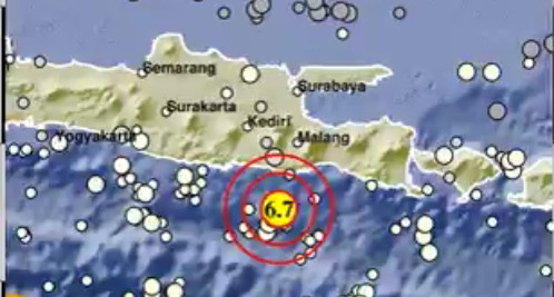 6.0-magnitude earthquake strikes off East Java coast: USGS