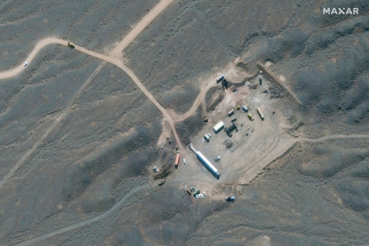 Iran says production of 60% enriched uranium 'underway'
