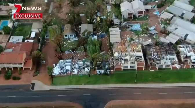 Cyclone Seroja causes 'widespread damage' in Australia towns