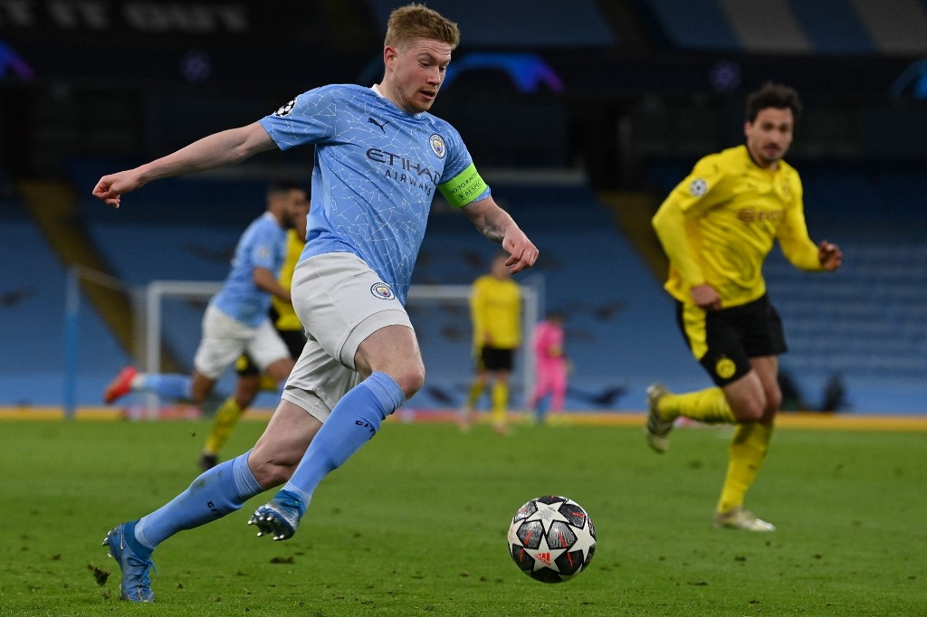 Data-driven De Bruyne key to breaking Man City's Champions League complex