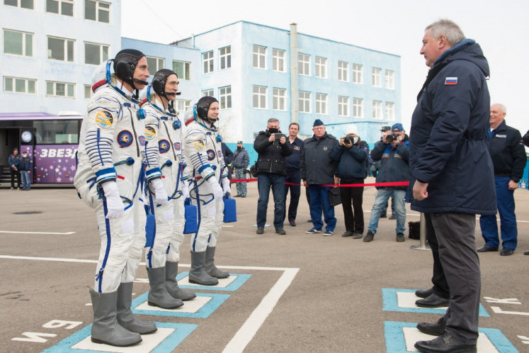 Russia space chief angry over US scrubbing of Gagarin