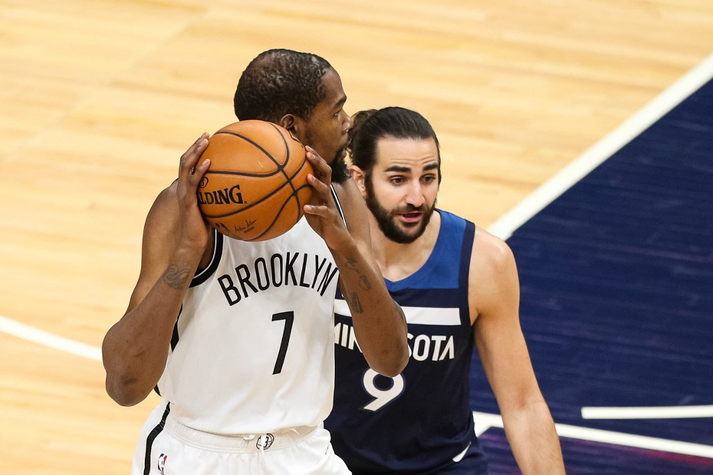 Durant drops 31 as Nets thump Timberwolves