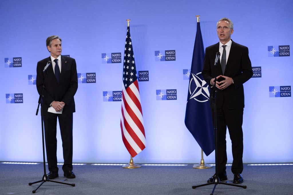 NATO forces to leave together from Afghanistan, US says