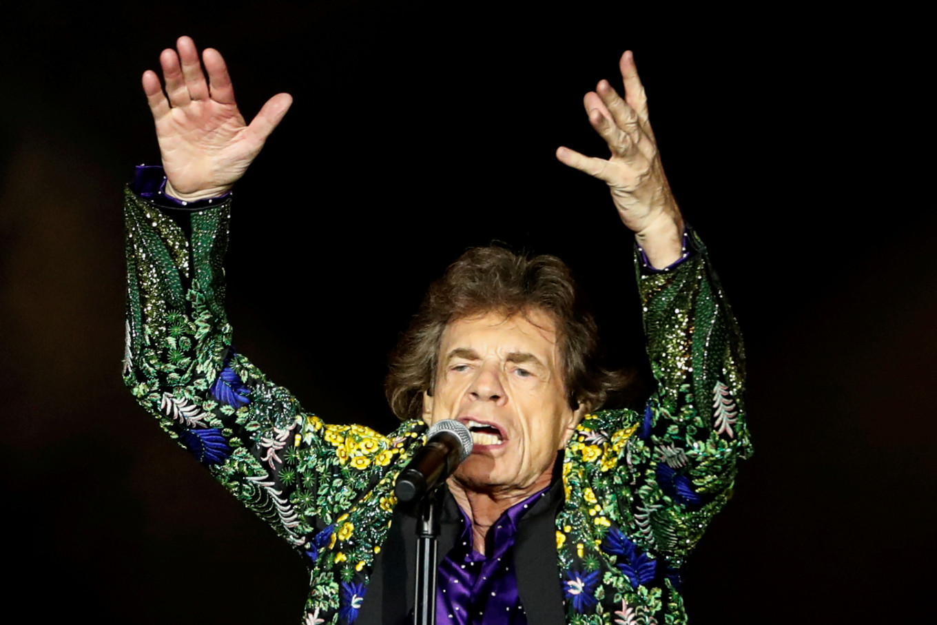 Mick Jagger celebrates end of lockdown in new track 'Eazy Sleazy'