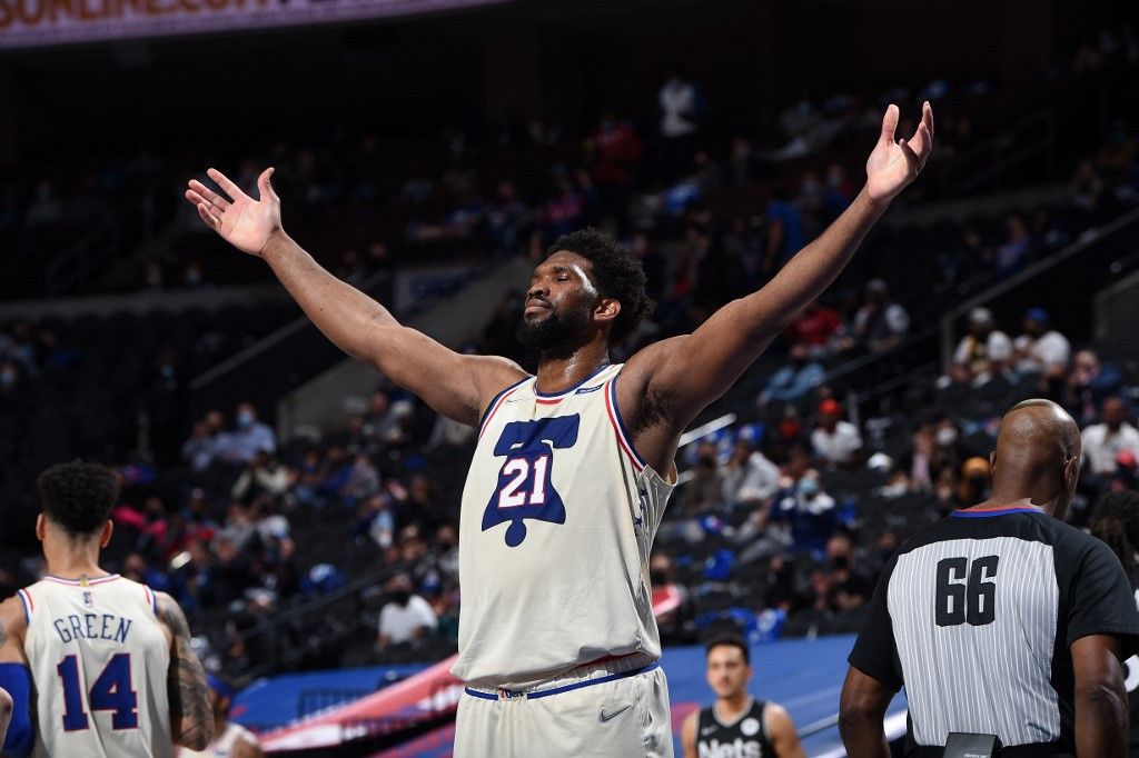 Embiid dominates as Sixers beat Brooklyn in battle for top spot in East