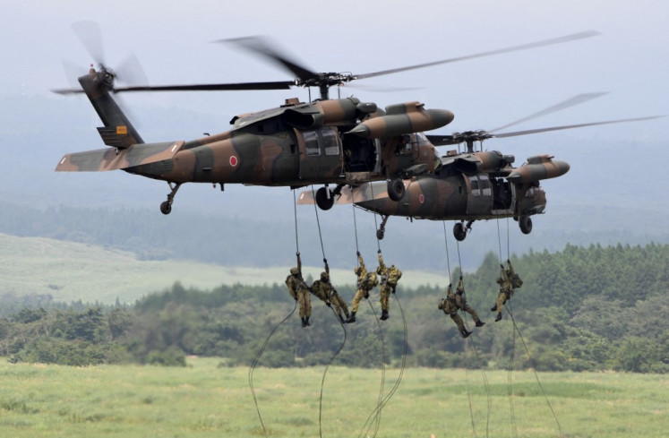 Japan troops to conduct nationwide drills for first time in 30 years