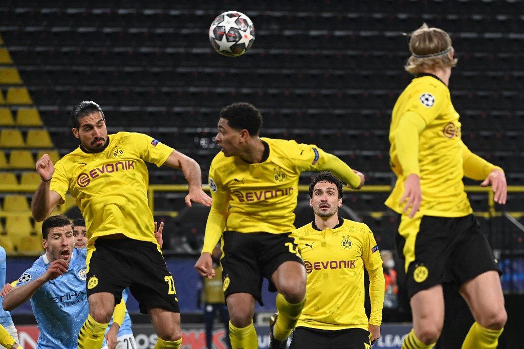 Dortmund look to keep hold of young squad after exiting Europe