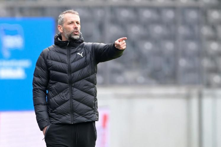 Coach Marco Rose.