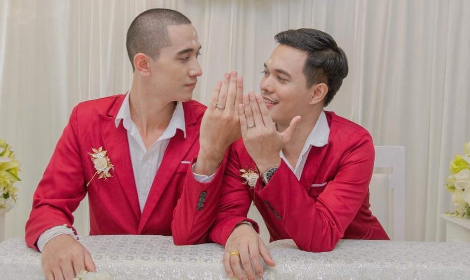Thai LGBT couple speak out against Indonesia's online bullying