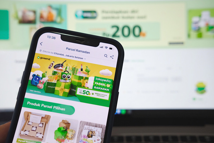 Share the warmth: Aside from Tokopedia's own Parsel Ramadan, users can also enjoy even more quality time with video calls, courtesy of the Paket Selamat campaign offering discounts of up to 50 percent on data plans.