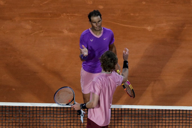 Nadal's bid for 12th Monte Carlo title ended by Rublev
