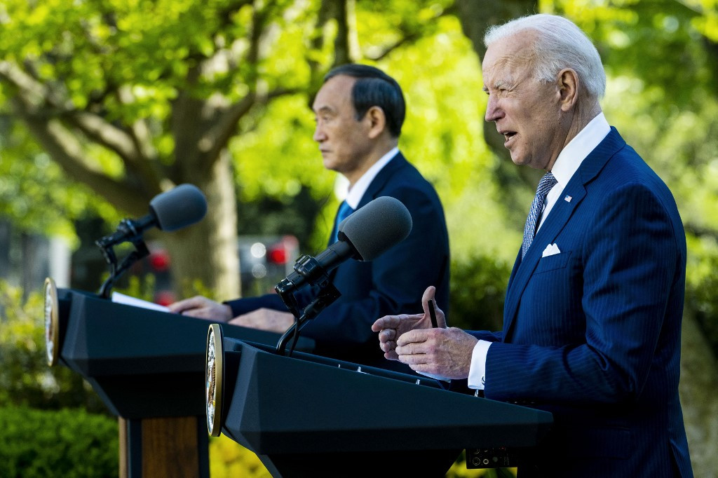Opposition parties rebuke Suga over results of summit with Biden