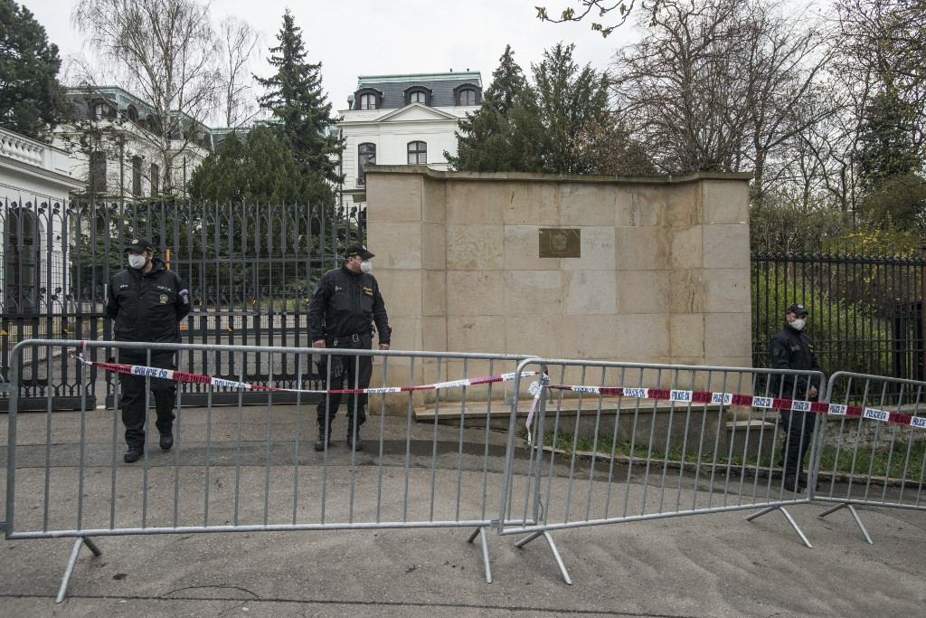 Tension rising between Russia and Czech Republic following diplomats expulsion