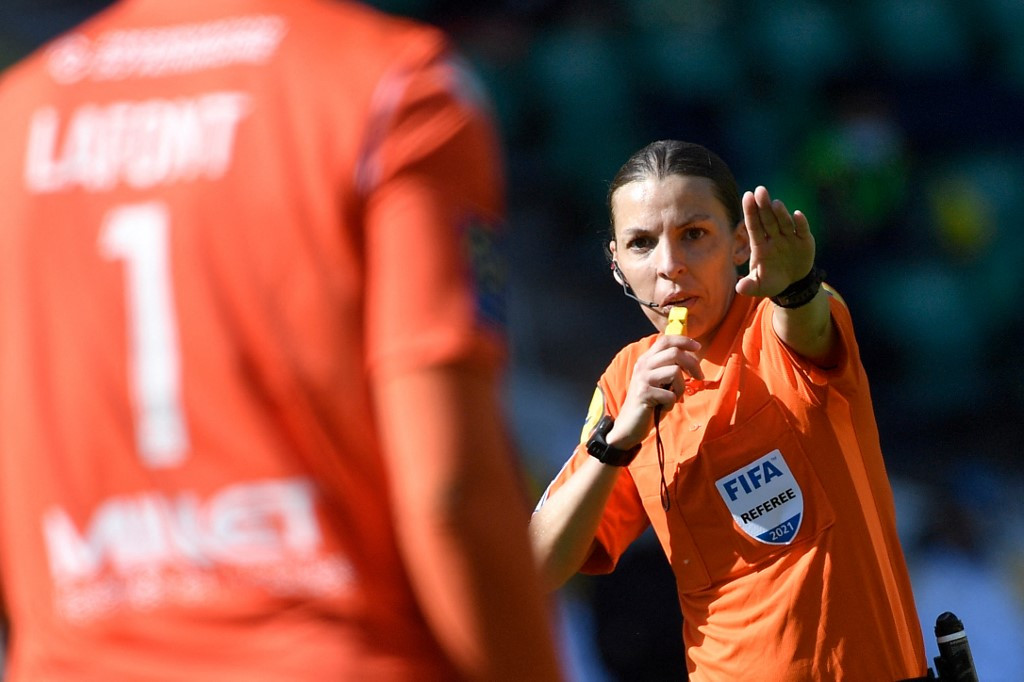 Frappart to be first woman to officiate at men's Euro