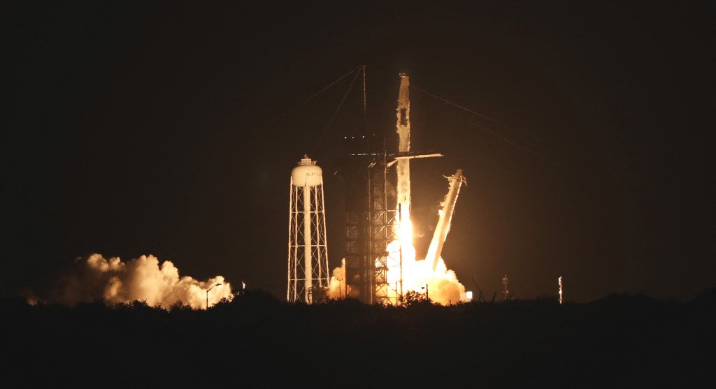 SpaceX launches third crew to ISS on recycled rocket