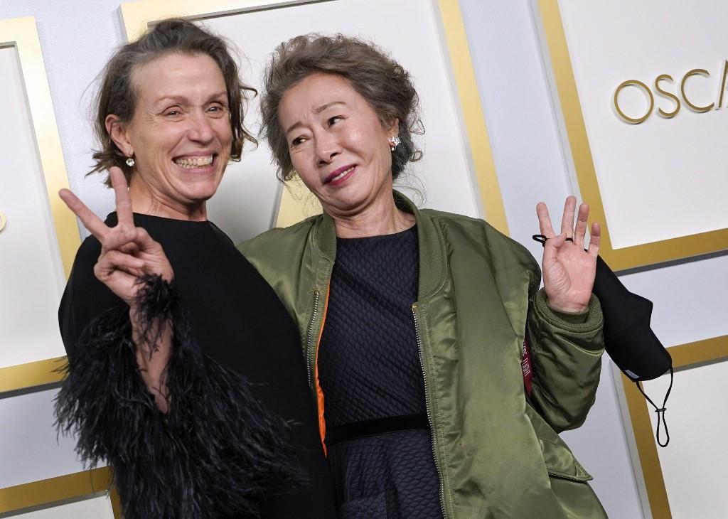 McDormand joins elite triple-Oscar actors club with 'Nomadland' win