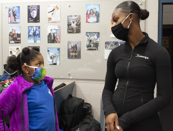 National Geographic Presents: IMPACT with Gal Gadot premiers on Monday, Apr. 26 with Ice Breakers, which tells the story of Kameryn Everett, a 20-year-old figure skating coach in Detroit, Michigan, who has dedicated her life to coaching young girls of color to empower them both on and off the ice.