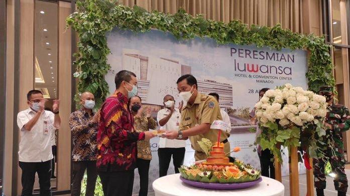 New Luwansa hotel finally opens in Manado
