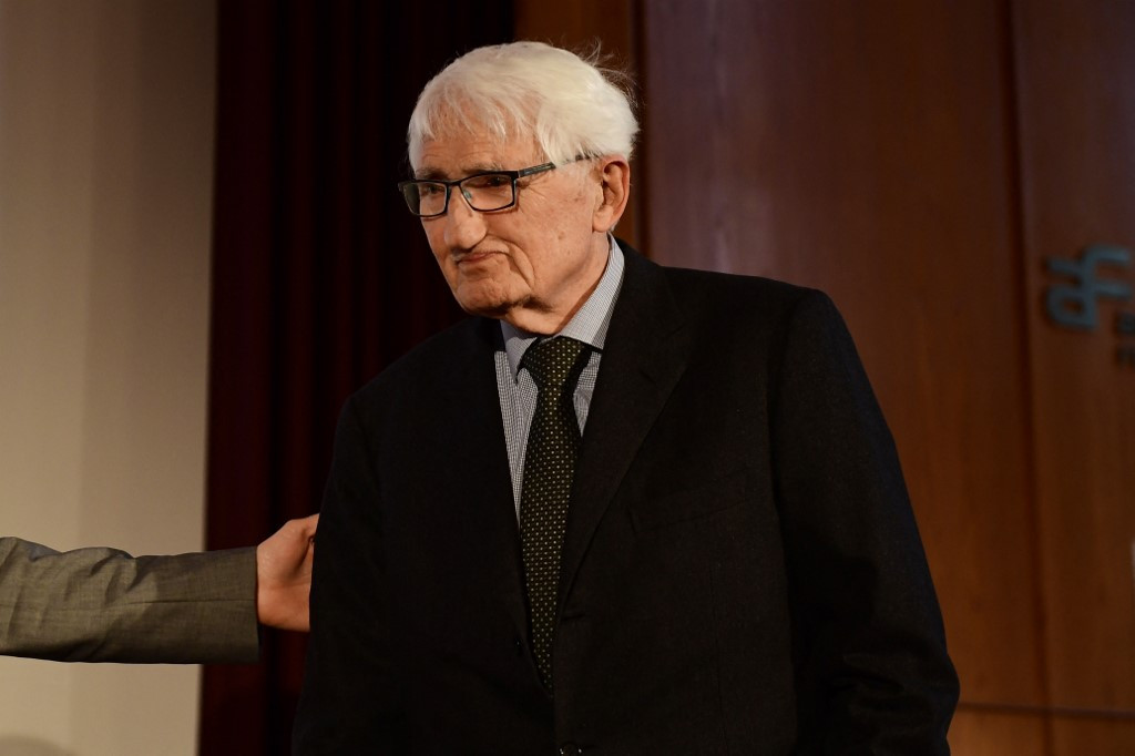 German philosopher Habermas rejects money prize from UAE