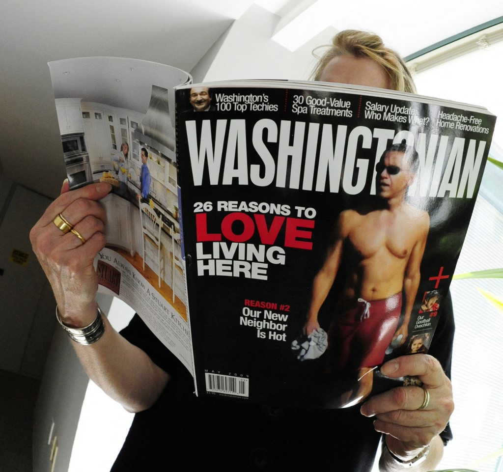 US magazine's staff stop working CEO questions telework