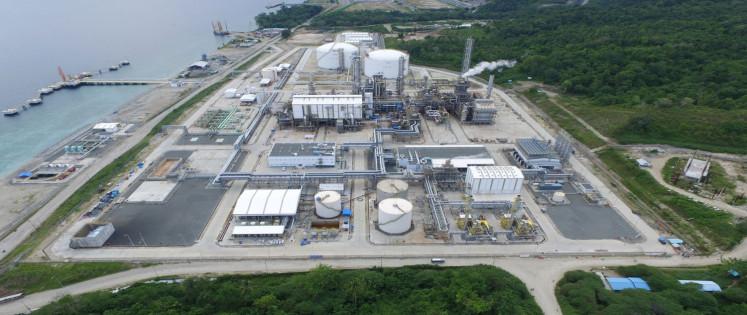 Pabrik amonia greenfield pertama di dunia yang menggunakan sistem transmisi reformer KPR dan teknologi pemurnian.
