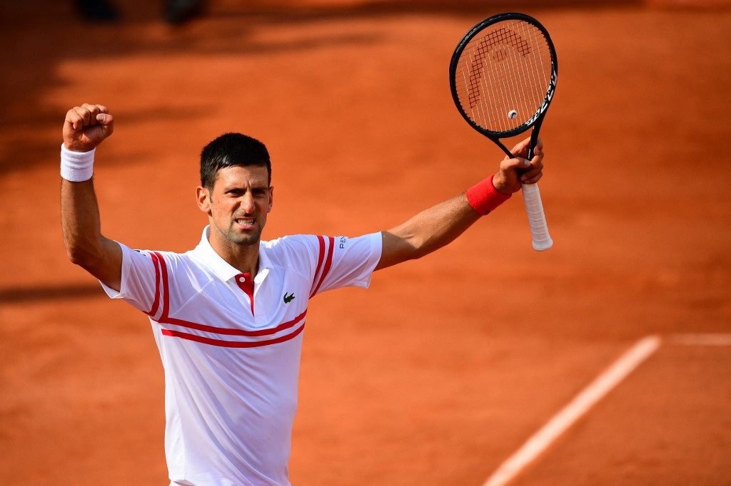 Djokovic Nadal Federer Into French Open Last 32 As Barty Limps Out Sports The Jakarta Post