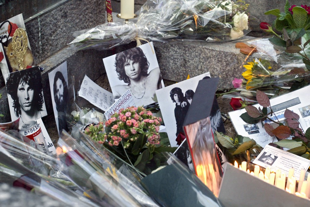 50 years after his death, Paris remembers Jim Morrison