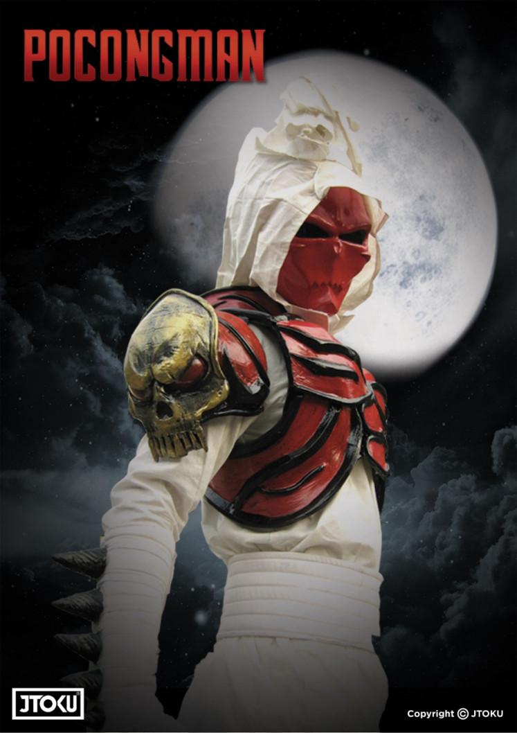 The Good Ghoul: 'Pocongman' adalah peran salah satu pendiri JToku Indonesia Nawa Rie Eda tentang makhluk gaib.