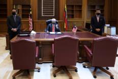 El primer ministro Ismail Sabri llegó a un acuerdo con la oposición para apoyar