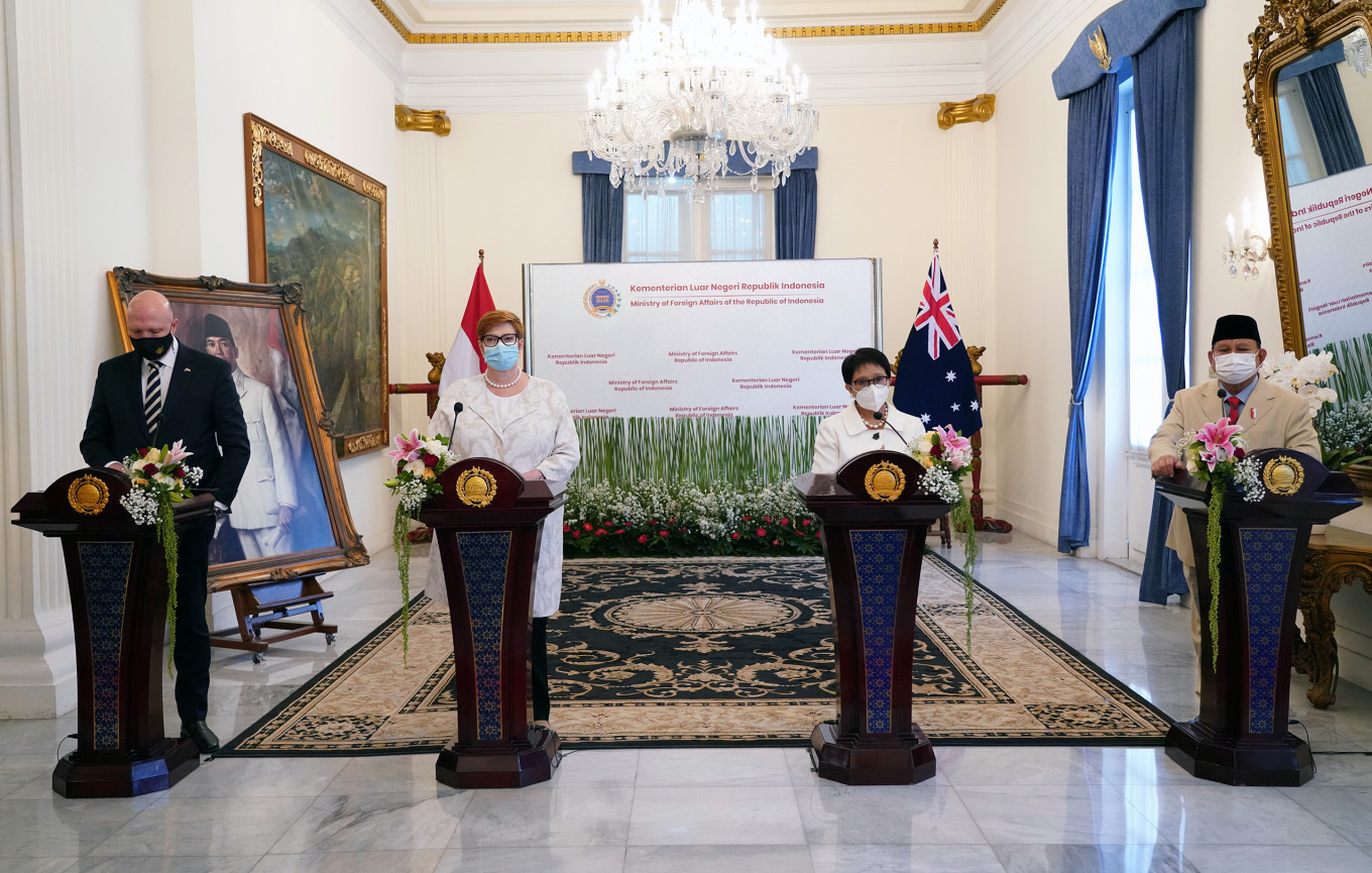 Indonesia, Australia to elevate defense, security ties in Indo-Pacific push  - World - The Jakarta Post
